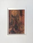 RAPOPORT, Alexandre (Rio de Janeiro, RJ, 1929) óleo sobre eucatex,, assinado, medida interna 22 x 16cm, medida total 37 x 31cm.