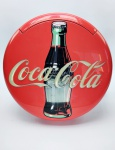 Telefone de mesa Promocional da Coca cola da década de 90, medindo 30x30 cm, no estado, sem testes
