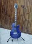 Golden - Guitarra modelo Les Paul sendo Golden na cor Azul anos 90, funcionando.