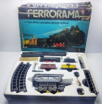 Estrela - Brinquedo Ferrorama modelo XP 300 em sua caixa com desgaste, Funcionando, manufatura Estrela