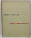 """LIVRO - """"Alberto Giacometti - Three Swiss Painters"""" - Ilustrado, pág. 202. Marcas do tempo."""