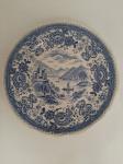 """VILLEROY & BOCH - Pequeno prato decorativo em porcelana Inglesa """"Burgenland"""" Med.: 16 cm de diâmetro"""