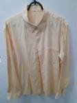Crawford, camisa 4 amarela de algodão, compr: 63cm / larg: 52cm / manga 61cm