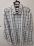 Aramis, camisa 4 de algodão egípcio passa fácil quadriculado, compr: 63cm / larg: 51cm / manga: 58cm