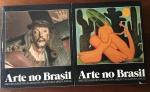Arte no Brasil, Cinco séculos de Pintura, Escultura, Arquitetura e Artes Plásticas, 2 volumes, Editora Abril sob direção de Victor Civita e prefácio de Pietro Maria Bardi