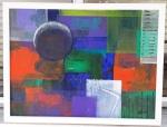 Ruth Pinheiro, AST Abstrato 5, 52,5x52,5cm