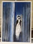 Ruth Pinheiro, AST Solidão, 50x70cm