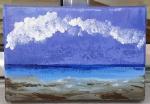 Ruth Pinheiro, AST Nuvem Sobre o Azul, 50x70cm