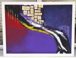 Ruth Pinheiro, AST Abstrato 4, 52,5x52,5cm