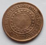 Moeda Bronze 40 Réis 1893