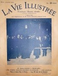 Jornal La Vie Illustrée - Paris 7 de fevereiro de 1902 n. 173 - Formato 36x28 cm - 20 páginas - Com matéria de capa sobre Santos Dumont - Conservação: Ótimo exemplar, sinal de acidificação, marcas de dobra no caderno., marcas do tempo.