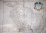 Guillaume delIsle - Carte de La Terre Ferme du Perou, du Brezil et du Pays des Amazones - Amsterdam 1703 - Conservação: Bom, sinal de acidificação, mancha de umidade - AF 75x55 cm AI 65x49 cm - Não emoldurado.