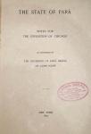Lauro Sodré - The State of Pará - New York 1893 - 1a. Ed. - Ilustrado com 6 reproduções fotográficas e 2 mapas desdobráveis - Encadernado - Conservação: Muito bom exemplar, sinal de acidificação/amarelamento., marcas do tempo.