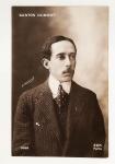 Cartão Postal - Santos Dumont - Paris 1910c - Formato 13,7 x 8,7 cm - Conservação: Ótimo exemplar., marcas do tempo.