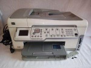 Impressora HP Photosmart C 6180 All-in- One. Não testada, usada e sem garantias. 24 x 45 x 38cm.