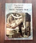 """LIVRO - """"Stereo Akte, Nudes , Nus"""" 1850 - 1930. Med 30 x 23cm."""