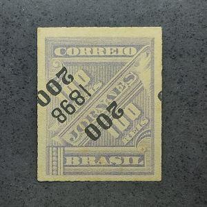 116I - 200/100 - Jornal sobretaxado com a sobretaxa invertida - catálago marca 350 UFS