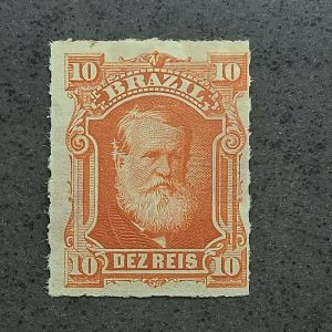 Barba Branca - 10 réis - Novo - Nº37 - catálago marca R$165,00