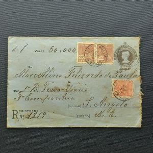 Envelope circulado para Santo Angelo