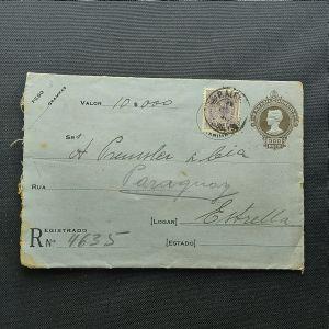 Envelope circulado para Estrela