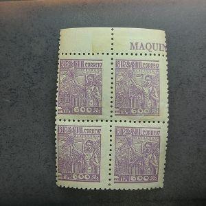 Regular - 430 - Quadra - lindo decalque no verso - catálago marca R$360,00