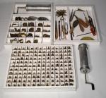 Vintage - extenso conjunto de bicos e kit para confeiteiro.