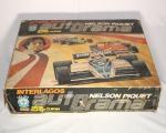 Autorama Interlagos Nelson Piquet, série super curva, Estrela. Composto de 2 carrinhos e 2 controles.