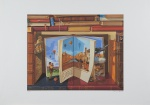 SONIA MENNA BARRETO, Florence - Gravura 71/100 - 50x70 cm - a.c.i.d.