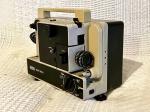 Antigo projetor Eumig modelo Mark 605D, para filmes no formato 8mm. Não testado e sem garantias.