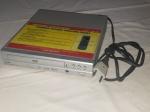 Aparelho de DVD Player Manufatura Coby modelo DVD-224 110/240V. Falta o controle remoto. Não testado e sem garantias. 5 x 12,5 x 25,5cm.