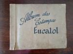 COLECIONISMO - Álbum das Estampas Eucalol com 128 estampas diversas. Década de 40.