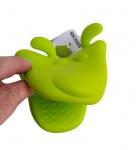 Pega de silicone para travessas quentes na forma de bichinho.