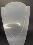 Lindo cordão em ouro, medindo 62cm de comprimento, pesando 13,7g