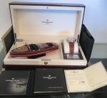 Belíssimo presente de natal relógio automático + barco edição limitada Frederique Constant Geneve, completo na caixa com todos os certificados e nota fiscal. Medida da circunferência do relógio 4,5 cm, funcionando.