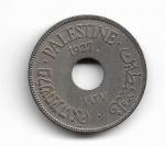 PALESTINA - COPPER-NICKEL - 10 MILS - 1927 - PESO: 6.50 GRAMAS - DIAMETRO: 27 MM - CATALOGO KM# 4 - VALOR ESTIMATIVO; R$ 180,00 - CONSERVAÇÃO: MBC