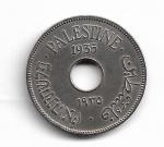 PALESTINA - COPPER-NICKEL - 10 MILS - 1935 - PESO: 6.50 GRAMAS - DIAMETRO: 27 MM - TIRAGEM: 1.150.000 - CATALOGO KM# 4 - VALOR ESTIMATIVO; R$ 180,00 - CONSERVAÇÃO: MBC
