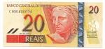 CEDULA DO BRASIL - PRIMEIRA SÉRIE CA0001 - NUMERAÇÃO 010033 - 20 REAIS - ANO DE 2010 - CATALOGO AMATO: C-307 - VALOR DE MERCADO: R$ 200,00 - CONSERVAÇÃO: FE = FLOR DE ESTAMPA