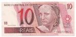 CEDULA DO BRASIL - PRIMEIRA SÉRIE FC0001 - NUMERAÇÃO 010462 - 10 REAIS - ANO DE 2010 - CATALOGO AMATO: C-300 - VALOR DE MERCADO: R$ 140,00 - CONSERVAÇÃO: FE = FLOR DE ESTAMPA