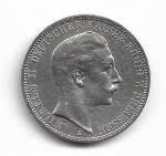 PRUSSIA - PRATA - 2 MARK - ANO 1910 A - WILHELM II - PESO: 16.67 GRAMAS - DIAMETRO: 33 MM - CATALOGO: KM# 527 - VALOR ESTIMATIVO DE MERCADO: R$ 350,00 - CONSERVAÇÃO: FC = FLOR DE CUNHO