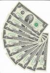 """EUA - LOTE COM 10 CEDULAS SEQUENCIADAS - 2 DOLLARS - ANO DE 2003A - LETRA """"K"""" (TEXAS) - VALOR ESTIMATIVO R$ 300,00 - CONSERVAÇÃO: FE = FLOR DE ESTAMPA"""