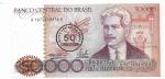 BRASIL - 50 CRUZEIROS (CARIMBO) - ANO DE 1986 - CATALOGO AMATO: C-178 - CONSERVAÇÃO: FE = FLOR DE ESTAMPA