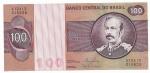 BRASIL - 100 CRUZEIROS - ANO DE 1981 - CATALOGO AMATO: C-147 - CONSERVAÇÃO: FE = FLOR DE ESTAMPA