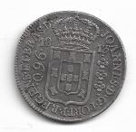 BRASIL - PRATA - 960 RÉIS (PATACÃO) - ANO DE 1813 RIO - VARIANTE: 35C - CATALOGO AMATO: C-423 - VALOR ESTIMATIVO R$ 600,00 - OTIMO ESTADO DE CONSERVAÇÃO.