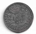 BRASIL - PRATA - 960 RÉIS (PATACÃO) - ANO DE 1820 RIO - REVERSO COM LEVE INCLINAÇÃO - CATALOGO AMATO: C-478 - VALOR ESTIMATIVO R$ 1.000,00 - OTIMO ESTADO DE CONSERVAÇÃO