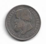 BRASIL IMPÉRIO - PRATA - 1.000 RÉIS - ANO DE 1878 - BUSTO DE D. PEDRO - CATALOGO AMATO: P-644 - VALOR ESTIMATIVO R$ 180,00 - BOM ESTADO DE CONSERVAÇÃO.