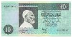 LIBYA - 10 DINARS - ANO DE 1991 - CATALOGO PICK: P-61b - VALOR ESTIMATIVO R$ 300,00 - CONSERVAÇÃO: FE = FLOR DE ESTAMPA