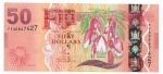 FIJI - 50 DOLLARS - ANO DE 2013 - CATALOGO PICK: P-118a - VALOR ESTIMATIVO R$ 300,00 - CONSERVAÇÃO: FE = FLOR DE ESTAMPA
