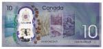 POLYMERO - CANADA - 10 DOLLARS - ANO DE 2017 - 150 TH ANIVERSARIO COMEMORATIVA - CATALOGO PICK: NEW - VALOR ESTIMATIVO R$ 100,00 - CONSERVAÇÃO: FE = FLOR DE ESTAMPA