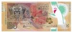 POLYMERO - TRINIDADE E TOBAGO - 50 DOLLARS - ANO DE 2014 - CATALOGO PICK: P-56 - VALOR ESTIMATIVO R$ 150,00 - CONSERVAÇÃO: FE = FLOR DE ESTAMPA