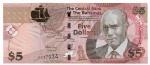 BAHAMAS - 5 DOLLARS - ANO DE 2007 - CATALOGO PICK: P-72 - VALOR ESTIMATIVO R$ 100,00 - CONSERVAÇÃO: FE = FLOR DE ESTAMPA